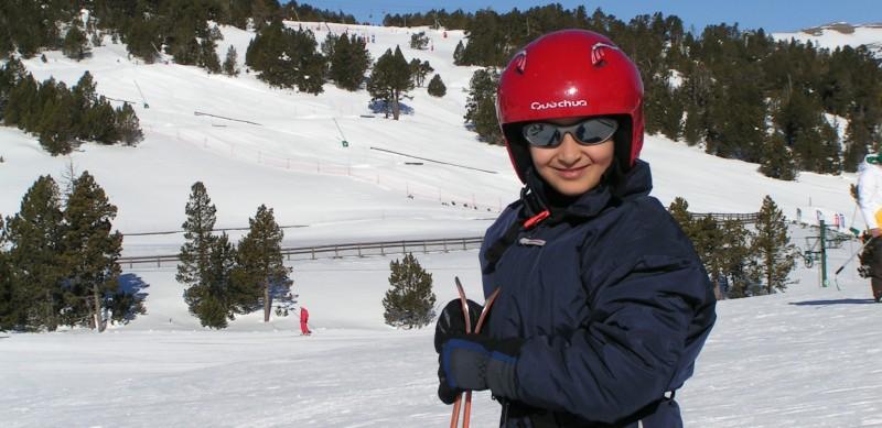 Le ski et la montagne à l'Auberge de la Baliu PEP 34 des Angles (Pyrénées-Orientales).