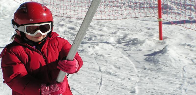 Classe de neige à l'Auberge de la Baliu PEP 34 des Angles (Pyrénées-Orientales).