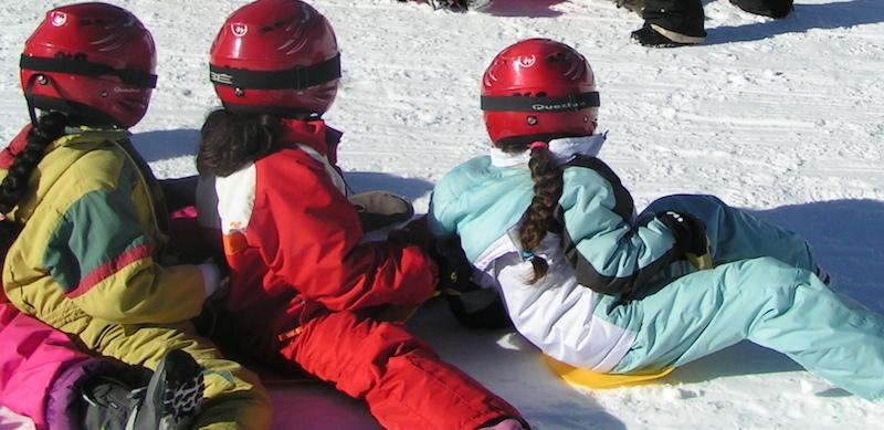 Ski et luge à l'Auberge de la Baliu PEP 34 des Angles (Pyrénées-Orientales).