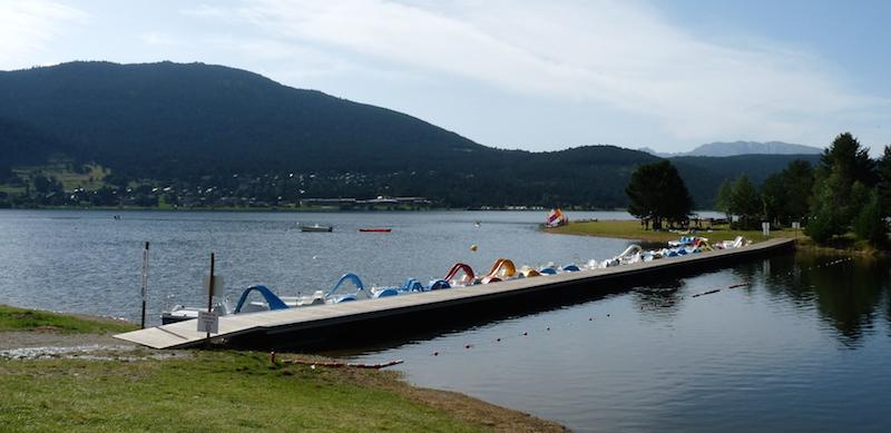 Entre lacs et montagnes à l'Auberge de la Baliu PEP 34 des Angles (Pyrénées-Orientales).