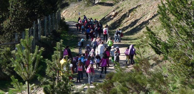 Séjours enfants à l'Auberge de la BaliuPEP 34 des Angles (Pyrénées-Orientales).