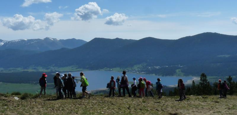 Colonies de vacances et classes découvertes à l'Auberge de la Baliu PEP 34 des Angles (Pyrénées-Orientales).