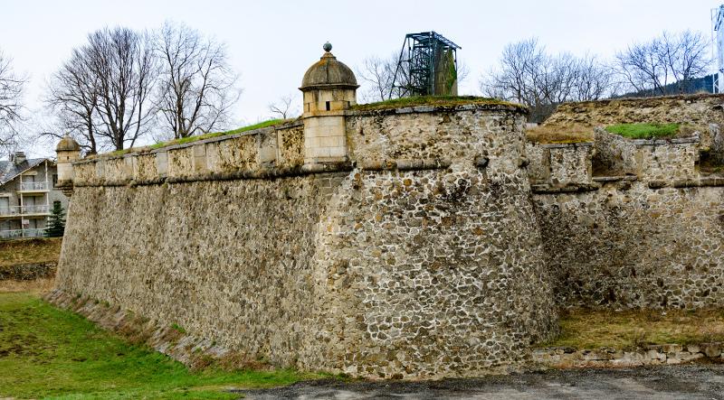 La citadelle Vauban de Mont-Louis