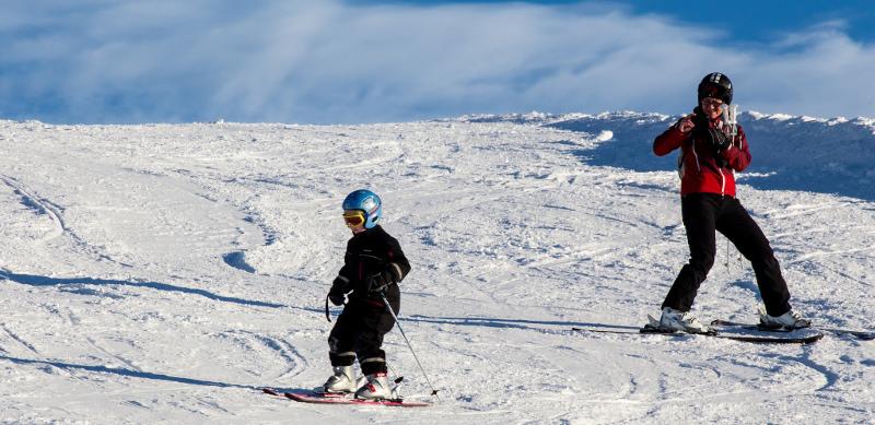 Ski de montagne aux Angles