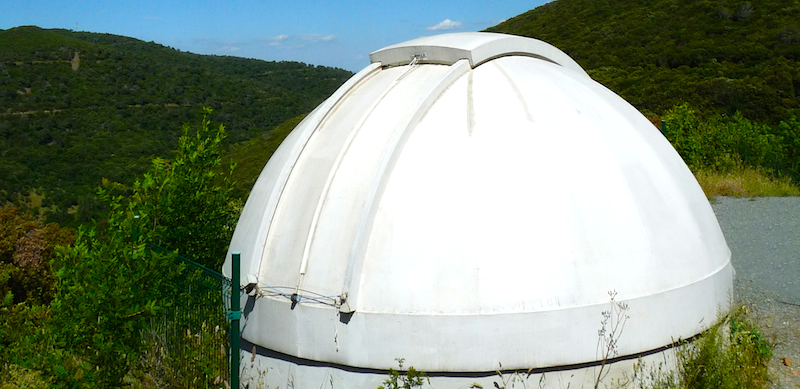Coupole d'observation astronomique de Malibert.