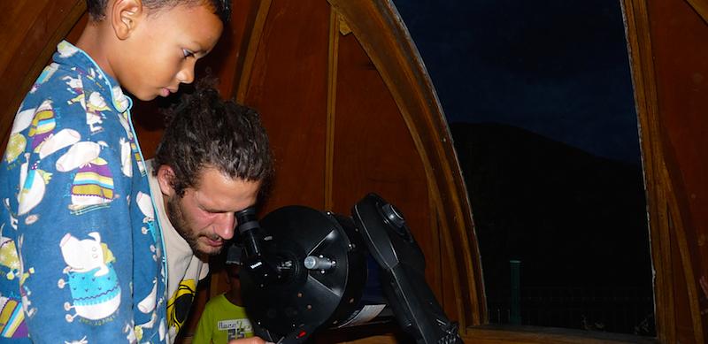 Astronomie en vacances avec les PEP 34.