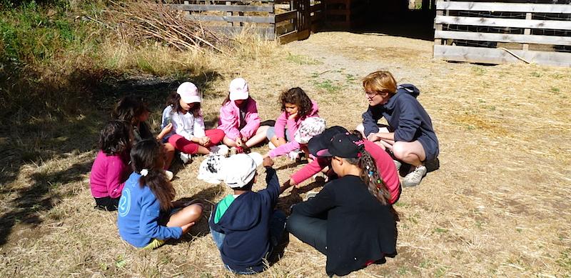 La ferme pédagogique PEP 34 de Malibert (Hérault).