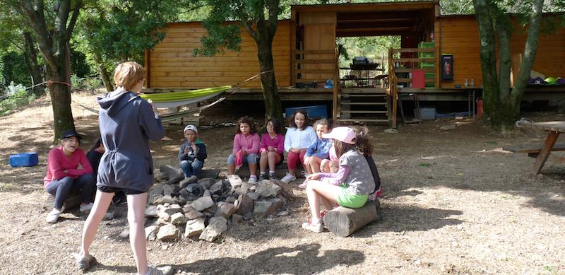 Colonie de vacances Davy Crockett : nature et biologie.