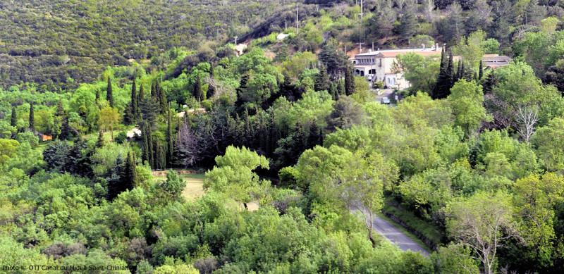 Le centre de vacances de Malibert, dans la région de Saint-Chinian.