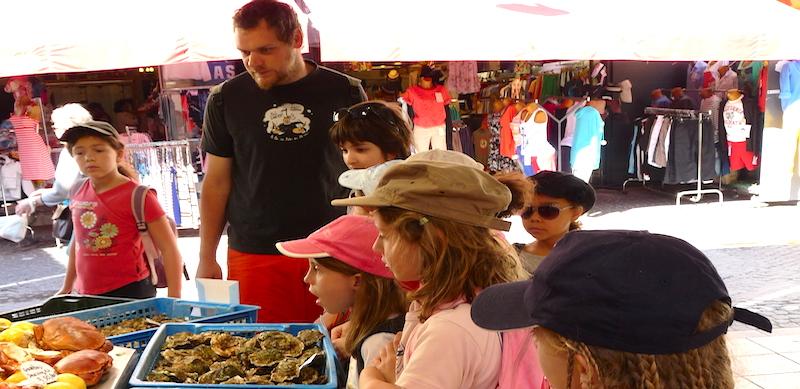 Activité marché au centre de vacances Le Grain de SEL PEP 34 de Palavas (hérault)