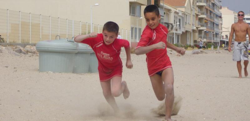Sauvetage sportif en vacances à Palavas-les-Flots (hérault).
