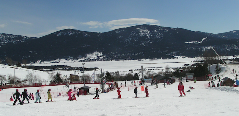 Ski dans les Pyrénées avec les PEP 34 !