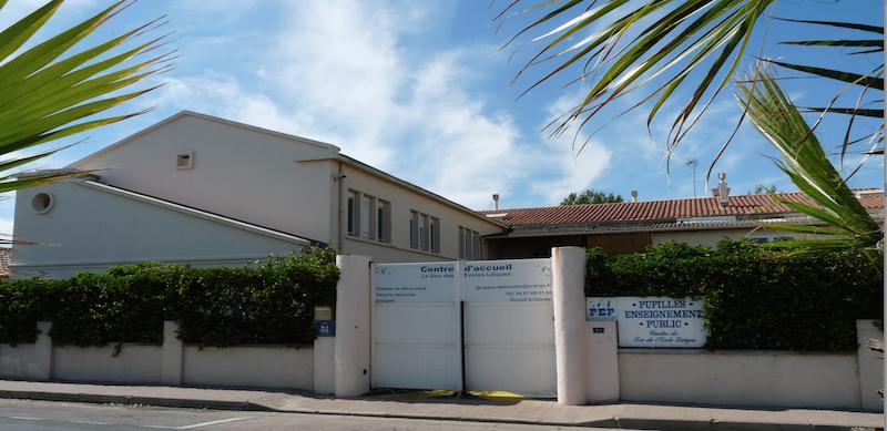 Le centre de vacances PEP 34 de Palavas.
