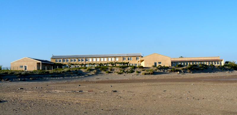 Le centre Mer et Soleil PEP 34 de Valras-Plage (Hérault).