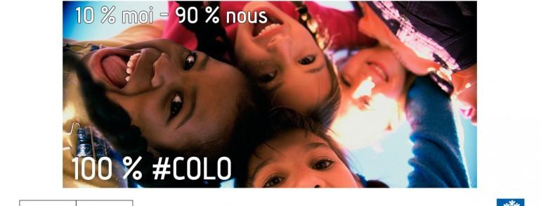 """Lancement de la campagne nationale """"100 % COLO"""""""