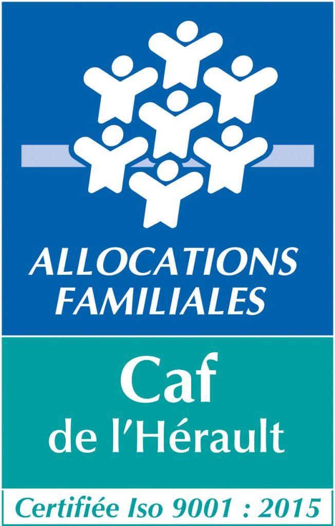 Logo de la CAF de l'Hérault