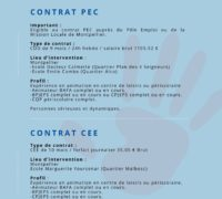 PEP34 Vacances recrute